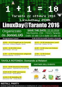 linuxday 2016 Taranto